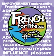 French for Life Poster